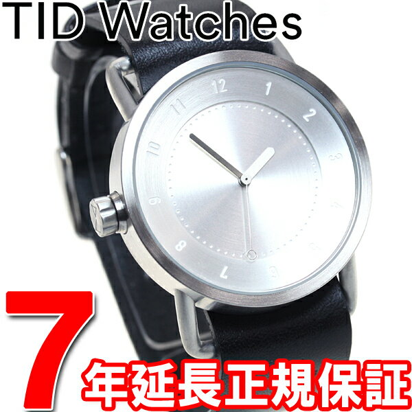 【1000円OFFクーポン!9月19日9時59分まで!】ティッドウォッチズ TID Watches 腕時計 メンズ/レディース ティッドウォッチ No.1 コレクション TID01-SV/BK