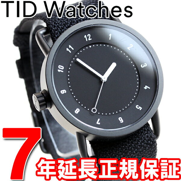 【1000円OFFクーポン!10月10日9時59分まで!】ティッドウォッチズ TID Watches 腕時計 メンズ/レディース ティッドウォッチ No.1 コレクション TID01-TW BLACK/COAL