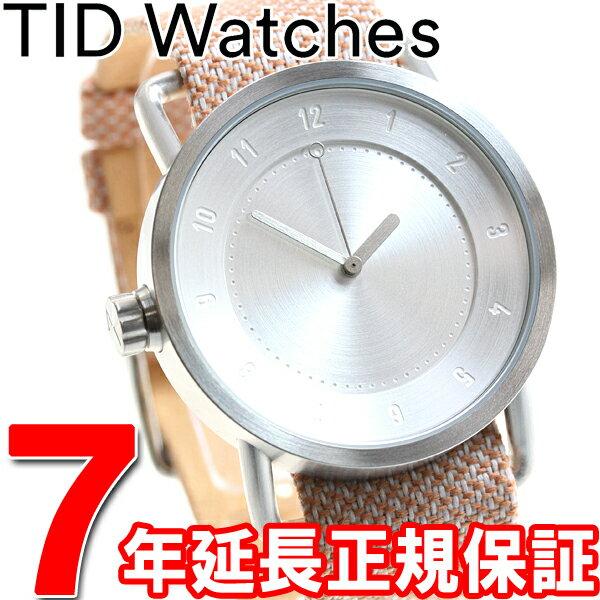 【1000円OFFクーポン!10月10日9時59分まで!】ティッドウォッチズ TID Watches 腕時計 メンズ/レディース ティッドウォッチ No.1 コレクション TID01-TW SV/SALMON