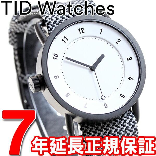 【1000円OFFクーポン!10月10日9時59分まで!】ティッドウォッチズ TID Watches 腕時計 メンズ/レディース ティッドウォッチ No.1 コレクション TID01-TW WH/GRANITE
