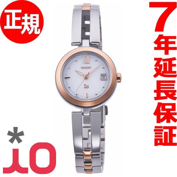 オリエント イオ ナチュラル&プレーン ORIENT iO NATURAL&PLAIN ソーラー 腕時計 レディース RN-WG0002S【2017 新作】