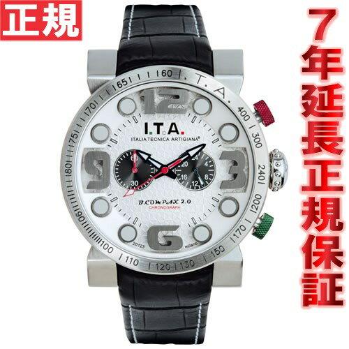 【3000円OFFクーポン!9月19日9時59分まで!】I.T.A. アイティーエー 腕時計 メンズ ビー・コンパックス2.0 B.COMPAX 2.0 クロノグラフ 18.00.04