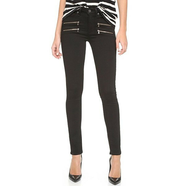 ペイジプレミア レディース デニムパンツ ボトムス High Rise Edgemont Jeans Black