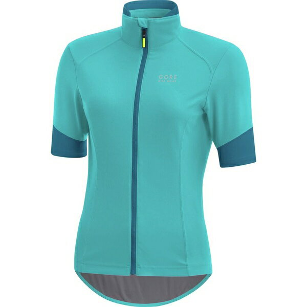 ゴアバイクウェア レディース サイクリング スポーツ Gore Bike Wear Power Lady Gore Windstopper Short-Sleeve Jersey - Women's Scuba Blue