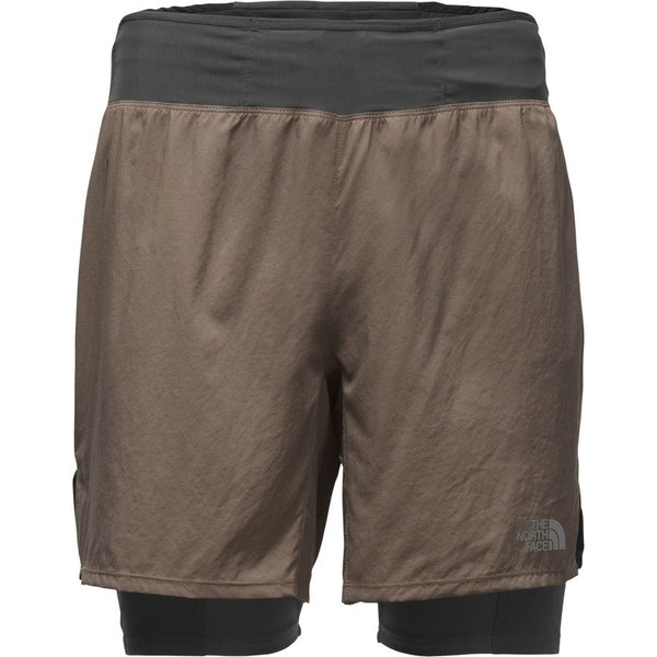 ノースフェイス メンズ フィットネス スポーツ The North Face Better Than Naked Long Haul 7in Short - Men's Falcon Brown/Asphalt Grey