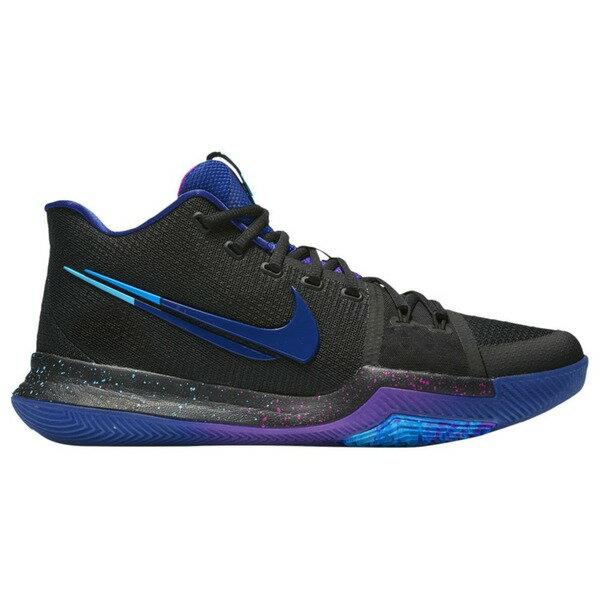 ナイキ メンズ スニーカー シューズ Men's Nike Kyrie 3 Black/Deep Royal/Photo Blue