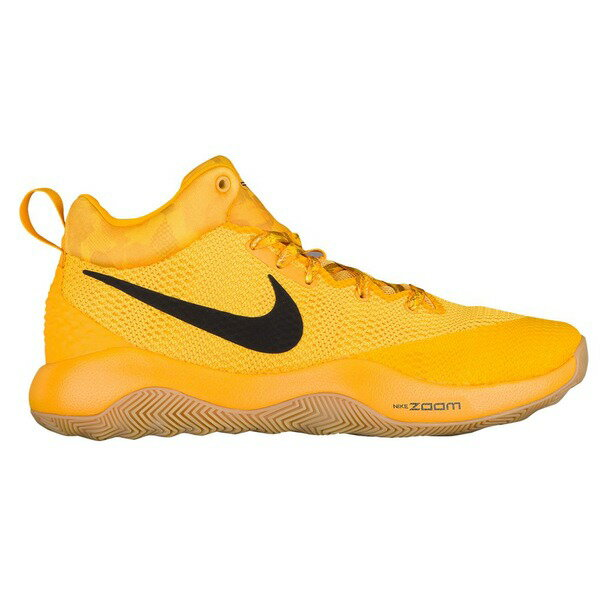 ナイキ メンズ スニーカー シューズ Men's Nike Zoom Rev Tour Yellow/Black/Gum/Volt