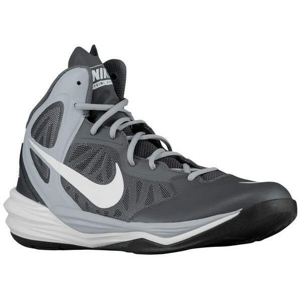 ナイキ メンズ スニーカー シューズ Men's Nike Prime Hype DF Dark Grey/Wolf Grey/Black/White