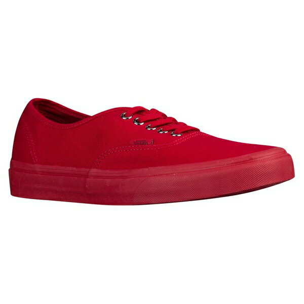 バンズ メンズ スケートボード スポーツ Men's Vans Authentic Red/Silver