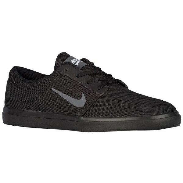 ナイキ メンズ スケートボード スポーツ Men's Nike SB Portmore Ultralight Black/White/Dark Grey