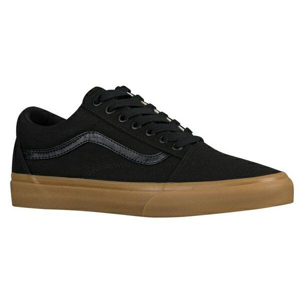 バンズ メンズ スケートボード スポーツ Men's Vans Old Skool Black/Light Gum