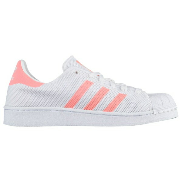 アディダスオリジナルス レディース バスケットボール スポーツ Women's adidas Originals Superstar White/Sun Glow/White