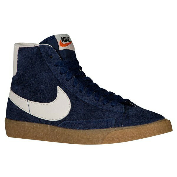 ナイキ レディース バスケットボール スポーツ Women's Nike Blazer Mid Binary Blue/Ivory/Gum Light Brown/Black/Orange
