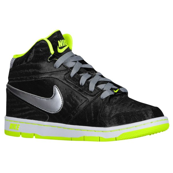 ナイキ レディース バスケットボール スポーツ Women's Nike Prestige IV High Black/Volt/White/Metallic Cool Grey