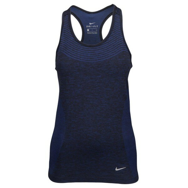 ナイキ レディース フィットネス スポーツ Women's Nike Dri-FIT Knit Tank Deep Royal Blue/Black/Reflective Silver