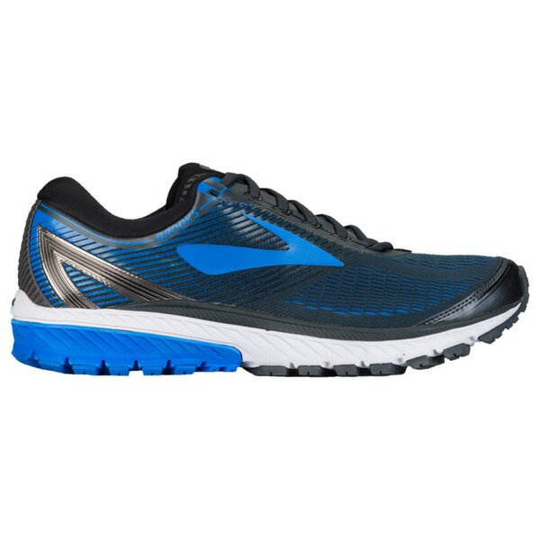 ブルックス メンズ スニーカー シューズ Men's Brooks Ghost 10 Ebony/Metallic Charcoal/Electric Blue