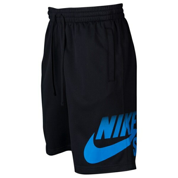 ナイキ メンズ フィットネス スポーツ Men's Nike SB Sunday Fade Dry Shorts Black/Lt Photo Blue