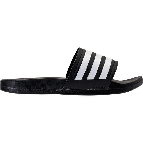 アディダス レディース サンダル シューズ Women's adidas adilette Cloudfoam Plus Slide Sandals Black/White