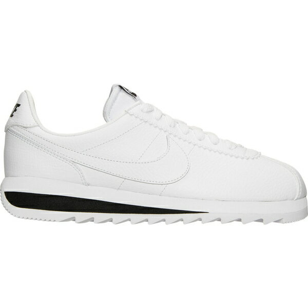 ナイキ レディース スニーカー シューズ Women's Nike Classic Cortez Epic Premium Casual Shoes White/White/Black