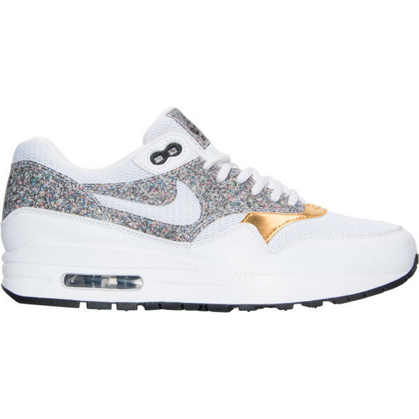 ナイキ レディース スニーカー シューズ Women's Nike Air Max 1 SE Running Shoes White/Black