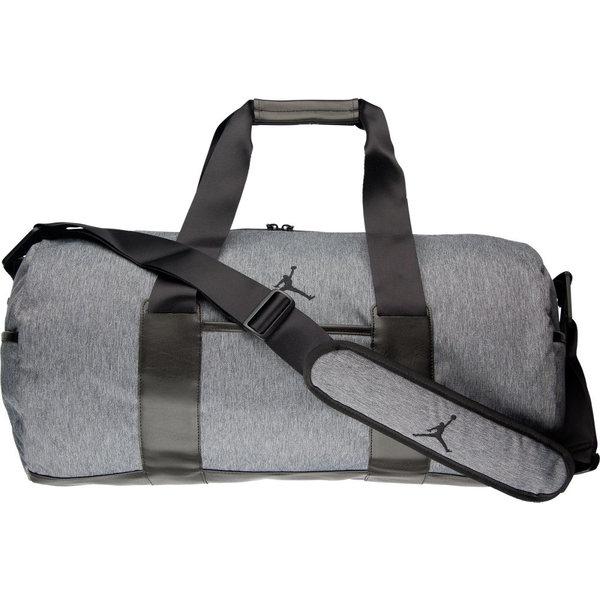 ナイキ メンズ バックパック・リュックサック バッグ Jordan Unstructured Duffel Bag Dark Grey Heather/Black