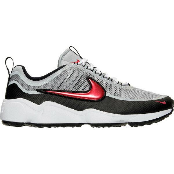ナイキ メンズ スニーカー シューズ Men's Nike Air Zoom Spiridon Ultra Casual Shoes Metallic Silver/Desert Red/Black