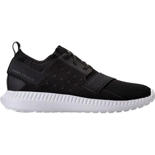 アンダーアーマー レディース スニーカー シューズ Women's Under Armour Moda Run Casual Shoes Black/White