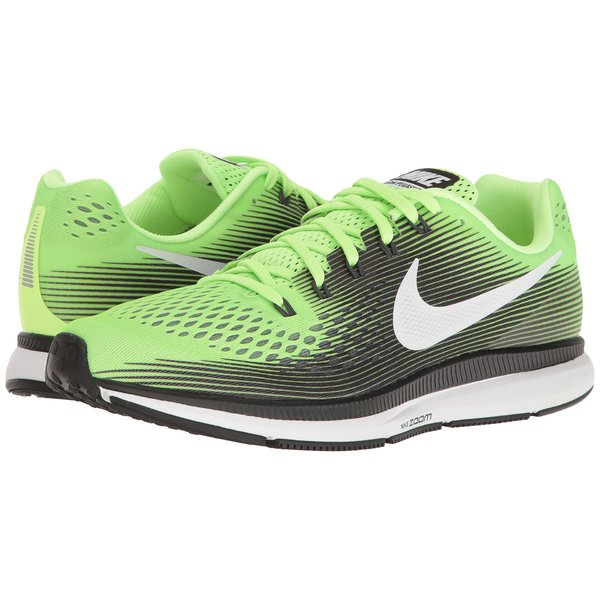 ナイキ メンズ スニーカー シューズ Air Zoom Pegasus 34 Ghost Green/White/Black/Cool Grey