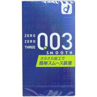 【送料無料・まとめ買い×144】オカモト ゼロゼロスリー003 コンドーム スムースパウダー 10コ入 ×144点セット まとめ買い特価!ケース販売 ( 4547691689597 )