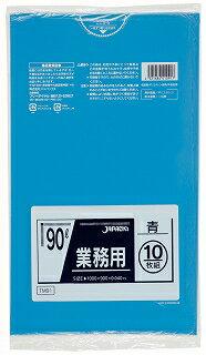 【送料無料】TM-91ポリ袋業務用90L青×30点セット まとめ買い特価!ケース販売 ( 4521684410917 )