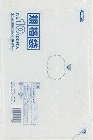 【送料無料】K-10 規格袋10号100枚03厚×60点セット まとめ買い特価!ケース販売 ( 4521684713100 )