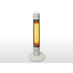 【当店は3000円以上で送料無料】TEKNOSスリムハロゲンヒーター300W1灯 PH-307 5個セット