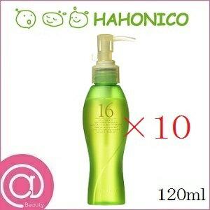 【×10セット・送料無料】HAHONICO ハホニコ ジュウロクユ 120ml【十六油/16油/洗い流さないトリートメント/10本セット】