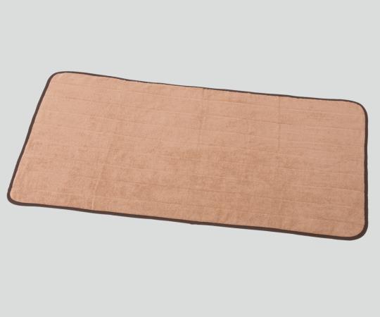サウナマット(スレン染め) KY650TAS-BR 700×1300mm 1袋(5枚入)
