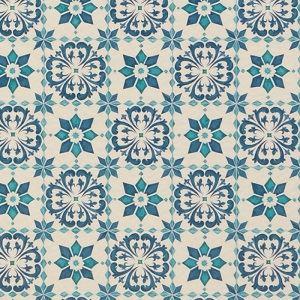 東リ クッションフロアH モロッコタイル 色 CF9003 サイズ 182cm巾×9m 【日本製】