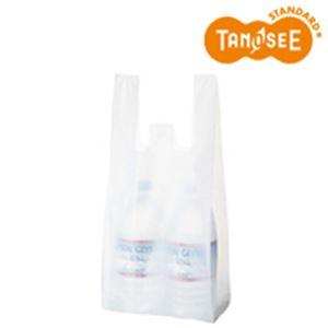 (まとめ)乳白レジ袋 No25 100枚入×60