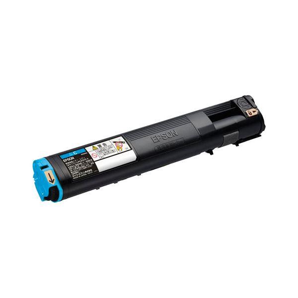エプソン(EPSON) カラーレーザートナー LPC3T21CV �インク色:シアン(環境推進トナー)】 1本