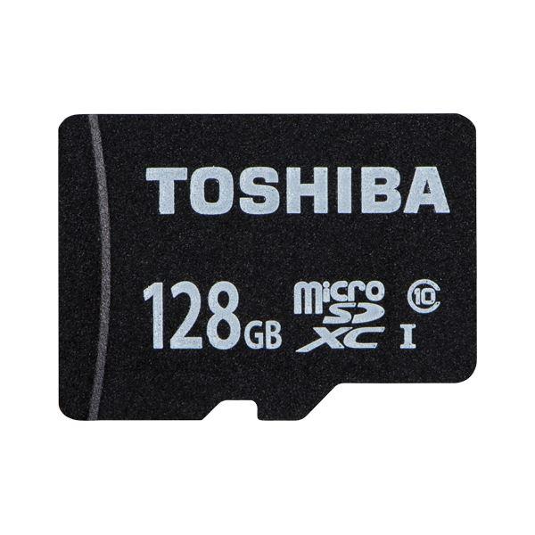 東芝 microSDXCメモリカード 128GB Class10 MSDAR40N128G