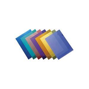(業務用200セット) ジョインテックス Hカラークリアホルダー/クリアファイル 【A4】 10枚入り 青 D610J-BL ×200セット