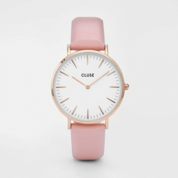 CLUSE(クルース)LA BOHEME ROSE GOLD - 38mm White/Pink