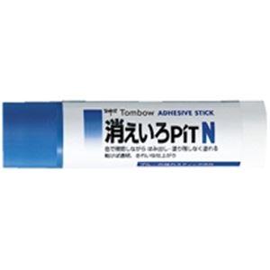(業務用10セット) トンボ鉛筆 スティックのり消えいろピット PT-NC 20個 ×10セット