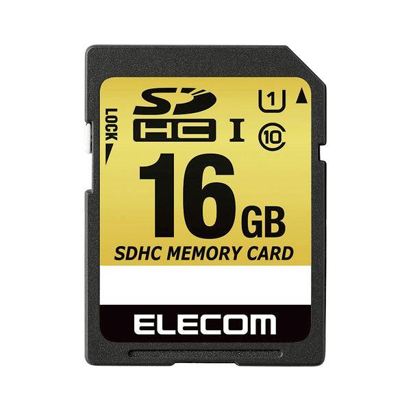 エレコム SDHCカード 車載用 16GB MF-CASD016GU11