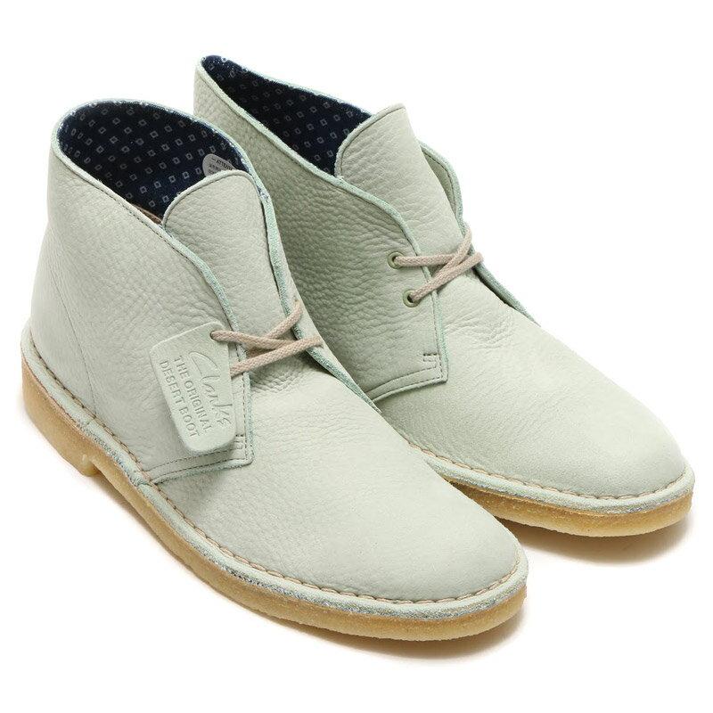 Clarks Originals DESERT BOOT(クラークス オリジナルス デザート ブーツ)Pale Green Nubuck【デザート ブーツ】【メンズ】
