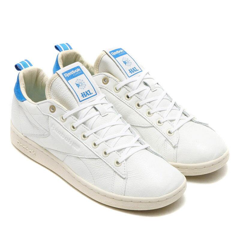 Reebok NPC UK CNL HAL(リーボック NPC UK CNL ハイズ アンド ローズ)WHITE/PPRWHT/ELECTRIC BLUE/BLUE SPORT【メンズ スニーカー】16SS-S