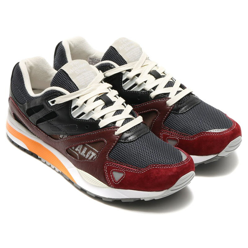 Reebok GS VENTILATOR II SL (リーボック GS ベンチレーター II SL)SOFT BLACK/SOIL/GRAPHITE/BRIGHT ORANGE/WHITE【メンズ スニーカー】16SS-S