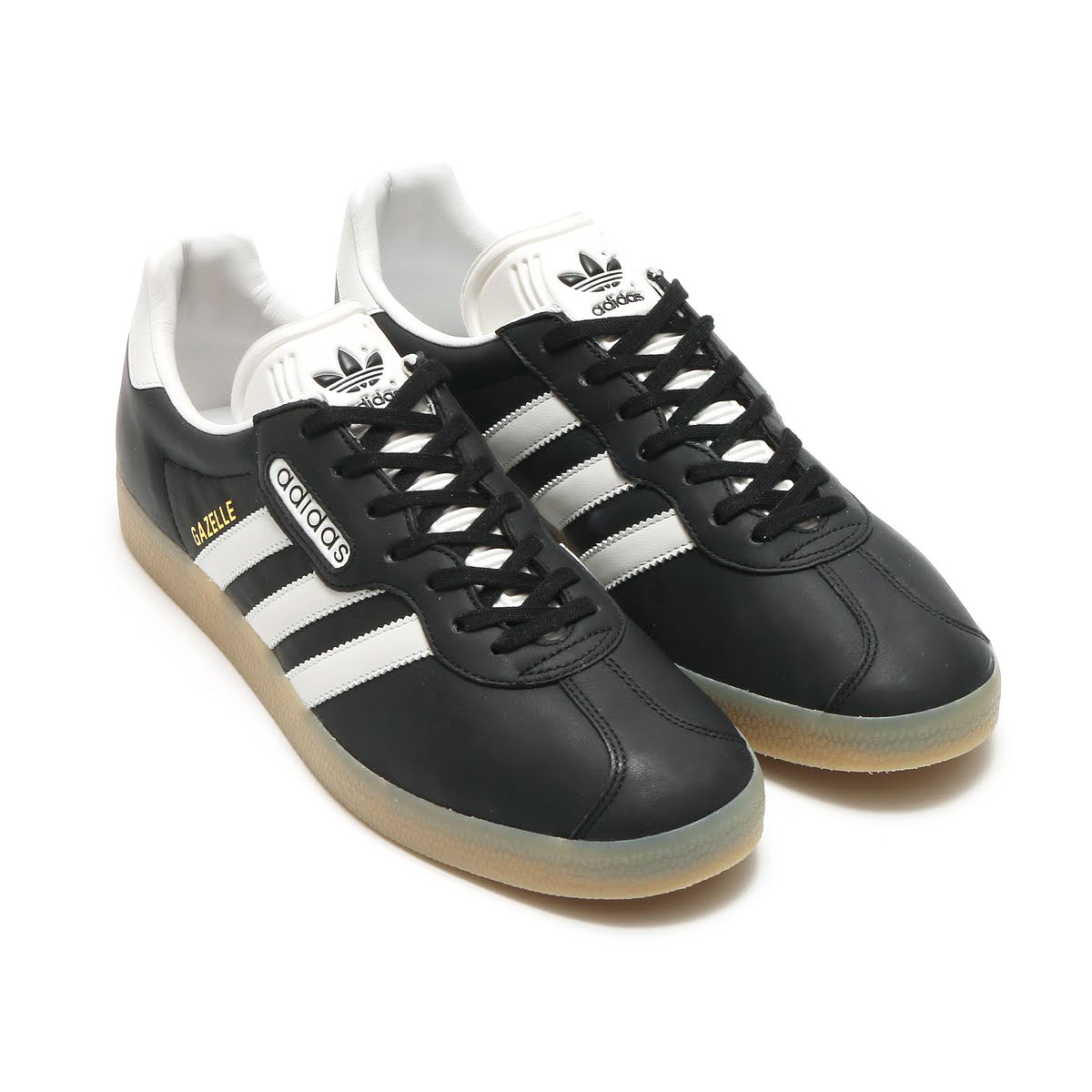 adidas Originals GAZELLE SP (アディダス ガゼル SP) CORE BLACK/VINTAGE WHITE S15/GUM4【メンズ レディース スニーカー】17SS-I