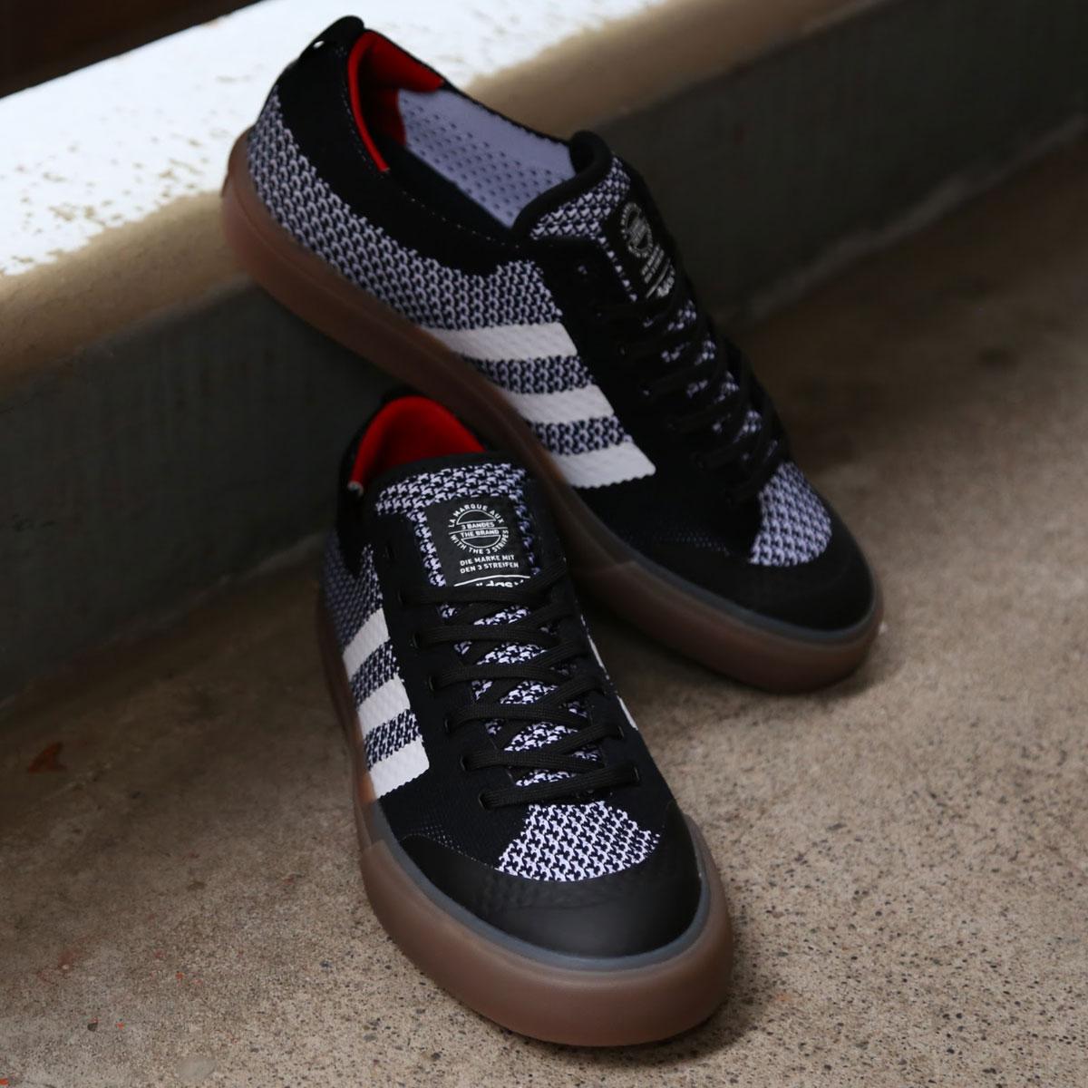 adidas Originals  MATCHCOURT PK (アディダス オリジナルス マッチコート PK) CORE BLACK/RUNNING WHITE/GUM4【メンズ スニーカー】17FW-I