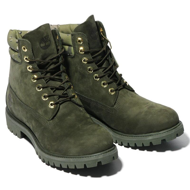 Timberland for Kinetics 6 inch Double Collar Boot(ティンバーランド フォー キネティクス 6インチ ダブル カラー ブーツ)GREEN NUBUCK【メンズ ブーツ】16AW-S