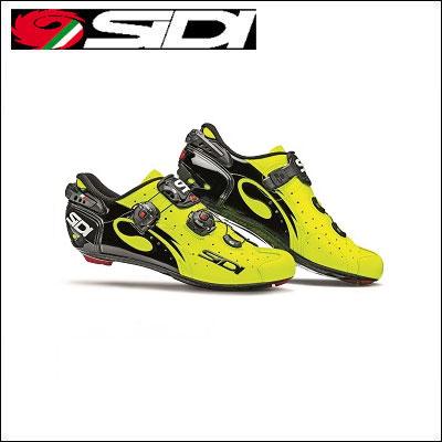 【送料無料】 SIDI WIRE carbon lucido ワイヤー カーボン イエロー/ブラック ロードバイク 【02P03Dec16】 ★