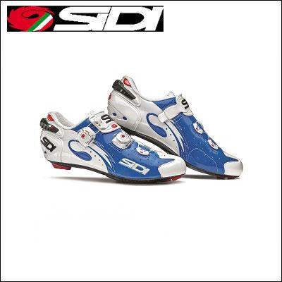 【送料無料】 SIDI WIRE carbon lucido ワイヤー カーボン ブルー/ホワイト ロードバイク 【02P03Dec16】 ★
